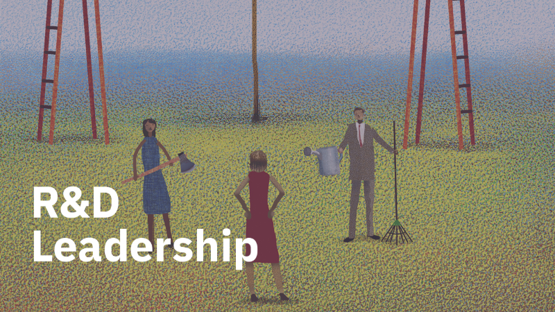 Regaining R&D Leadership