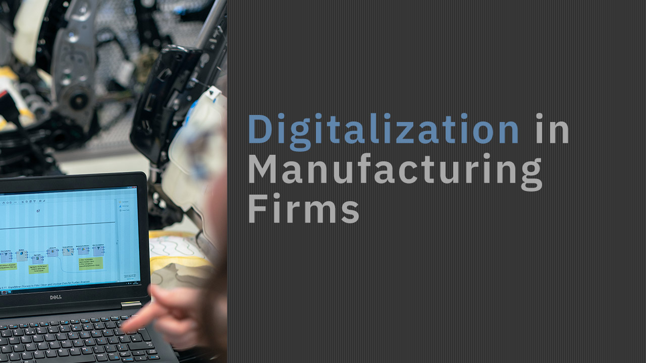 Digitalization in Manufacturing Firms